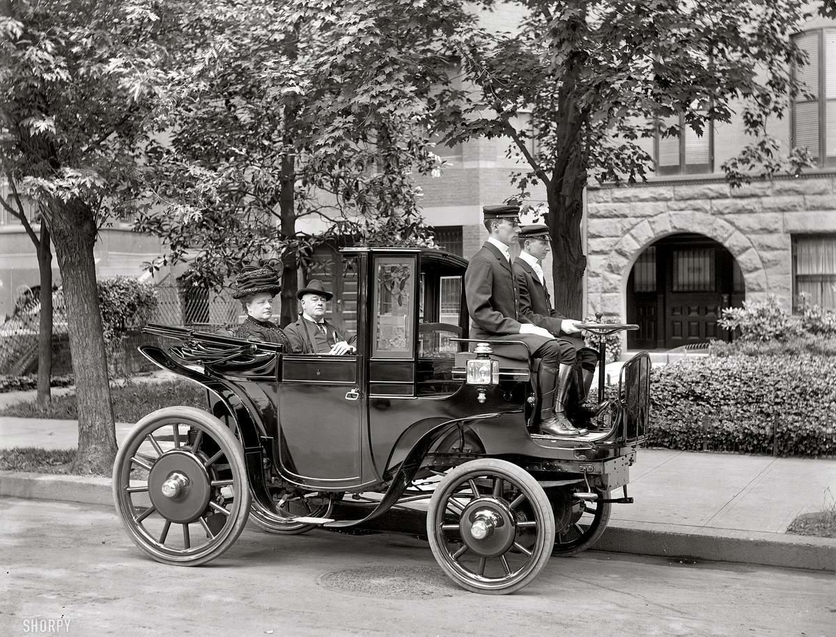 Авто карета сенатора Джорджа Ветмора (Вашингтон, 1906 год)