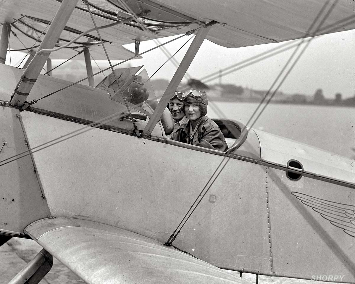 Самолеты и пилоты начала 20-го века на снимках американских фотографов (28)