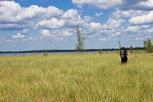 прогулка на озеро Вялье