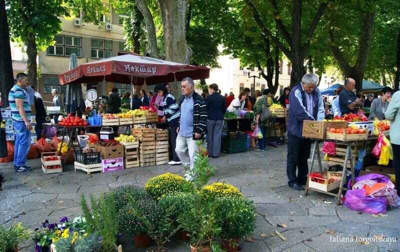 На рынке в Требинье