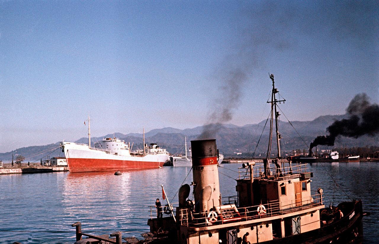 В порту Батуми