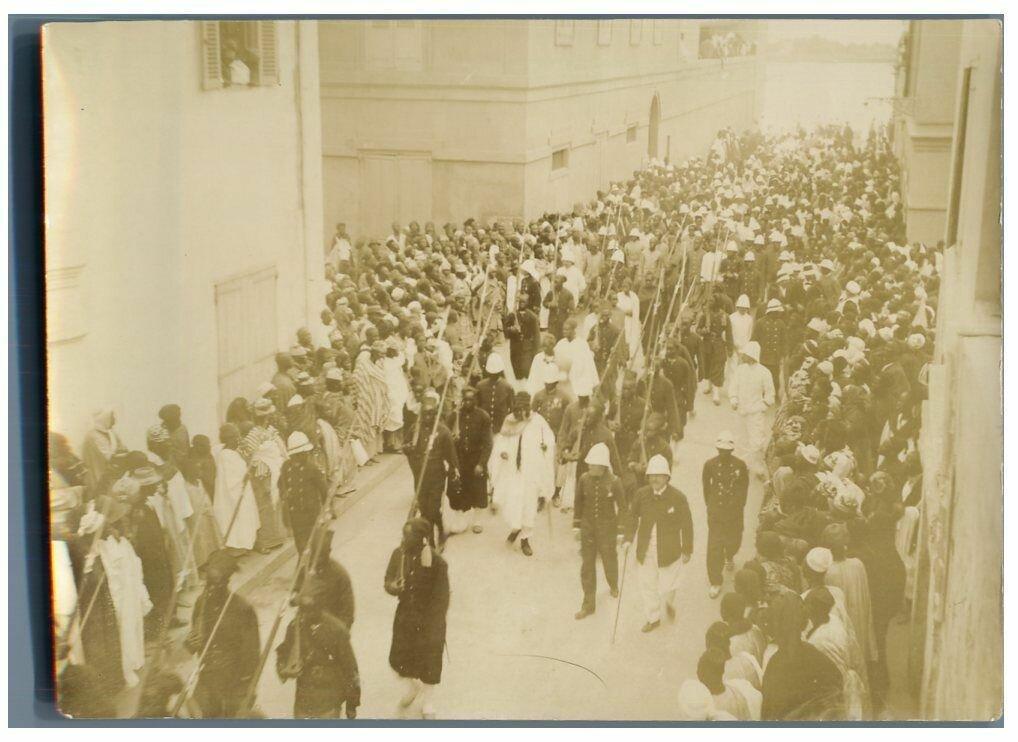 Пленные Самори Туре в Сен-Луи. 1895