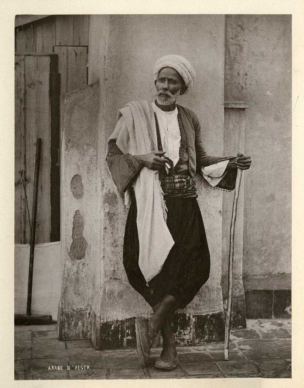1890. Алжирский араб