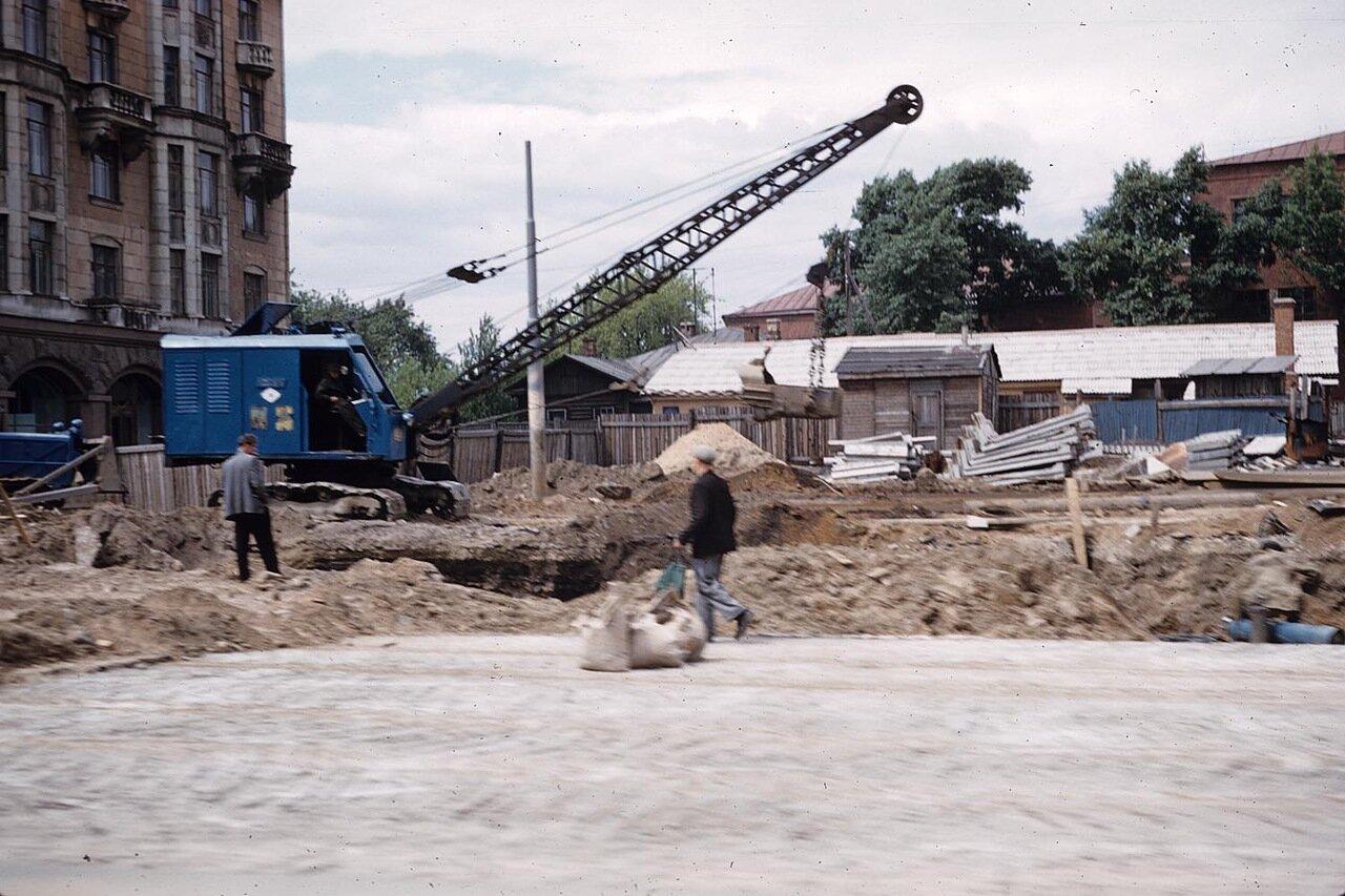 20. Прокладка Кутузовского проспекта