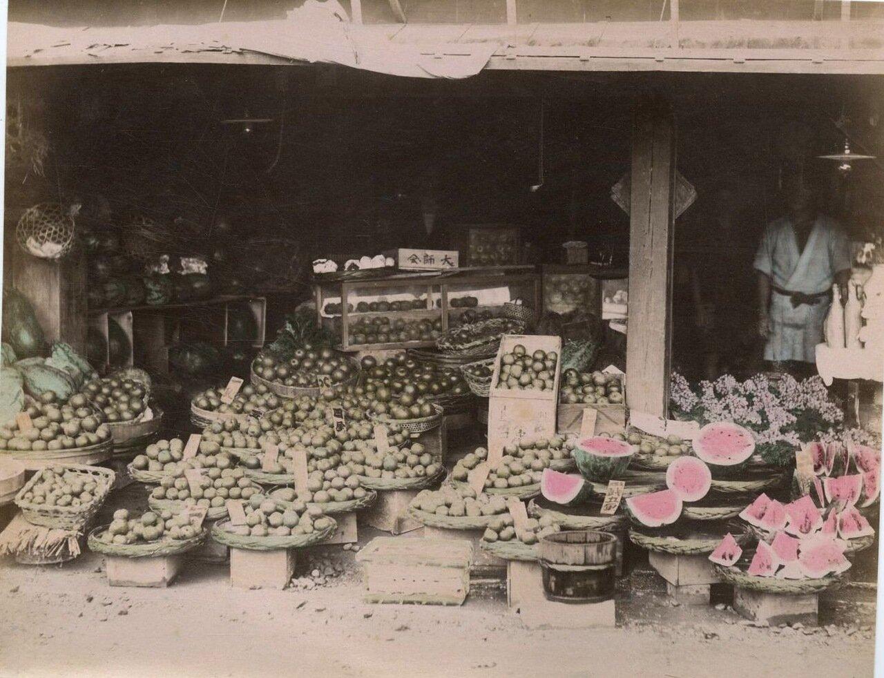 Фруктово-овощная лавка