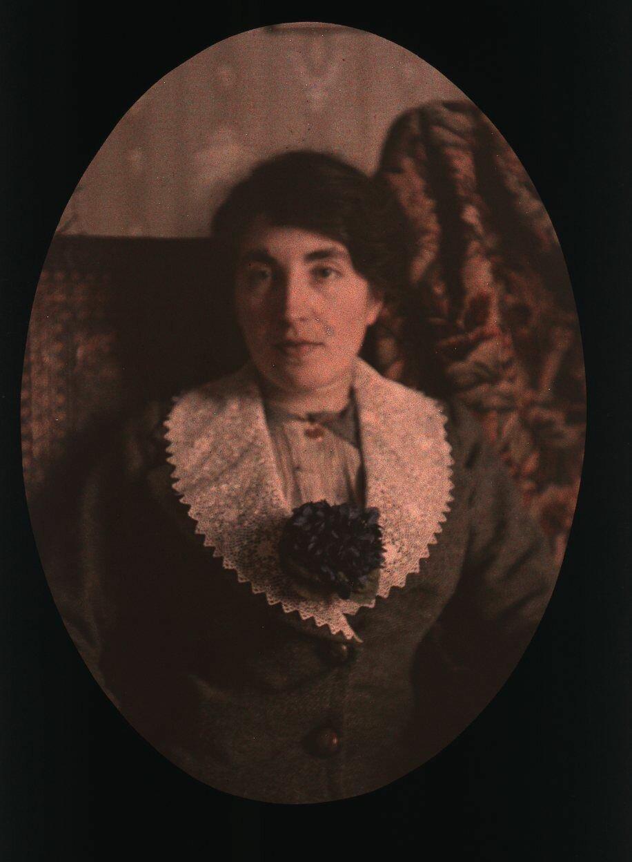 1910. Женский портрет. Ницца