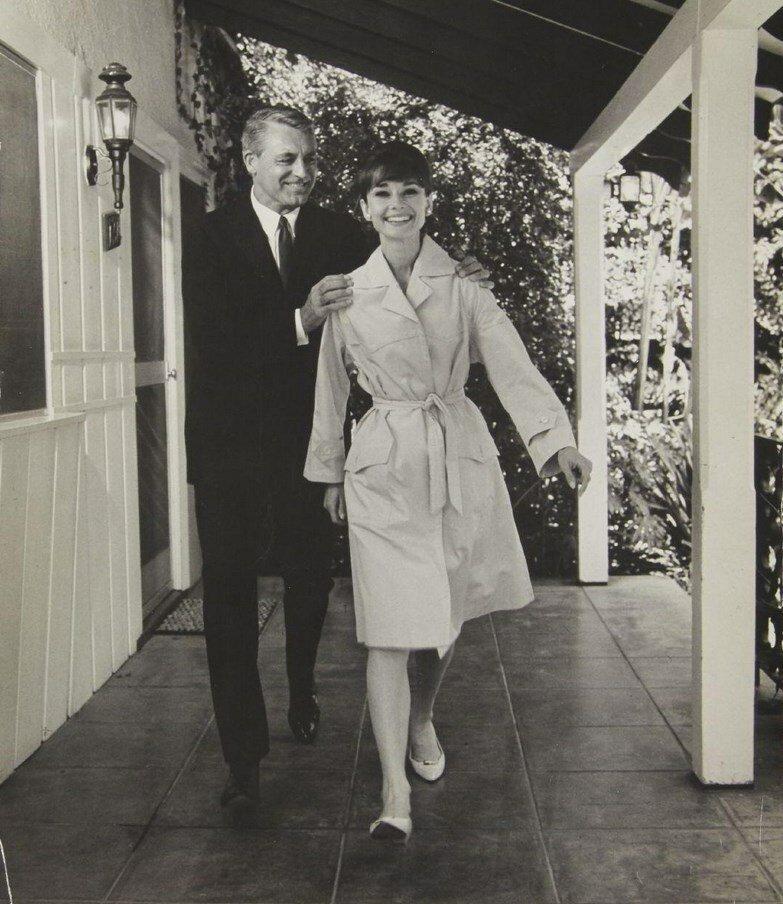 1963. Одри Хэпбёрн и Кэри Грант, Голливуд