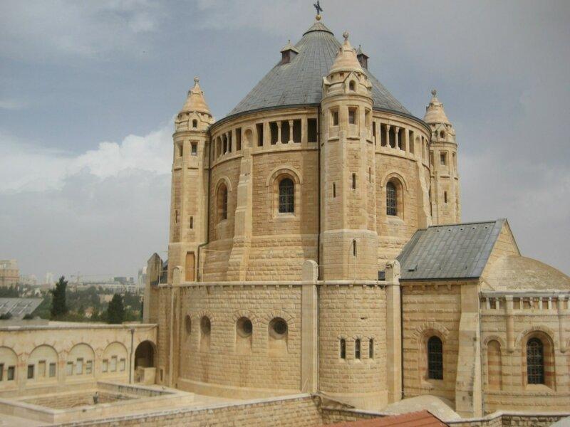 вид на Старый город от Сионских ворот 1.JPG