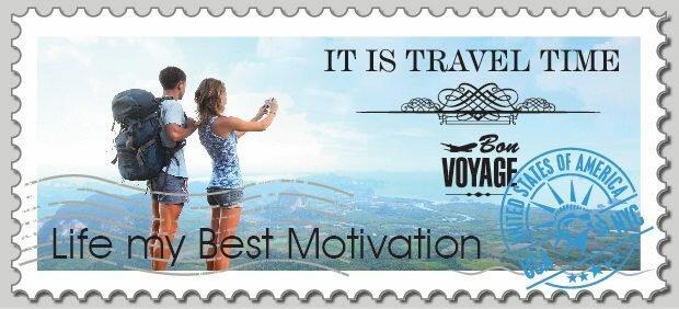 TRAVEL voyage track