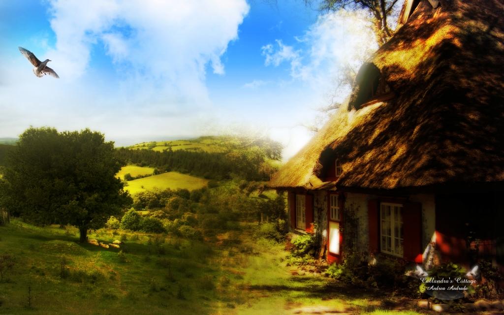 Деревенская красота для настроения
