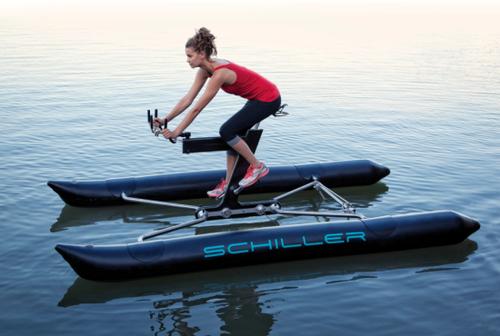 Водный велосипед ух!