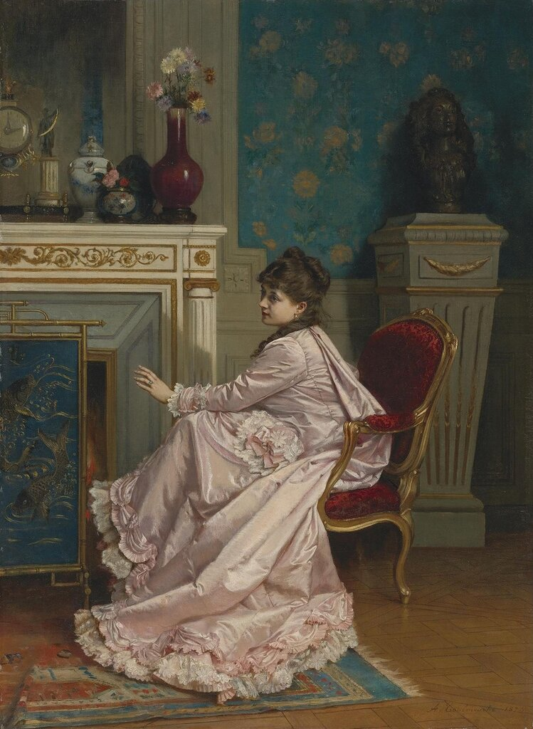 Auguste Toulmouche, 1829-1890. ����� � ������. 59 � 43.4 ��.jpg