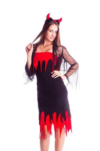 Женский карнавальный костюм Дьяволица
