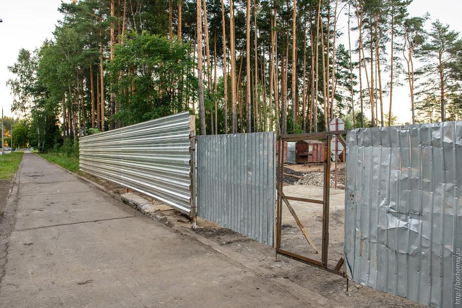 дверь в заборе