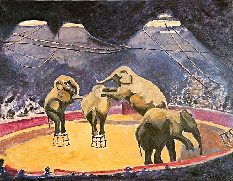 + 1928 Выступление слонов в цирке.jpg