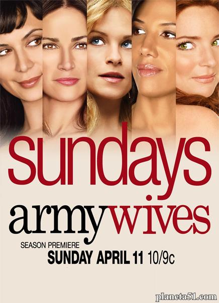 Армейские жены (1-7 сезоны: 1-117 серии из 117) / Army Wives / 2007-2013 / ПМ (FoxLife) / DVDRip