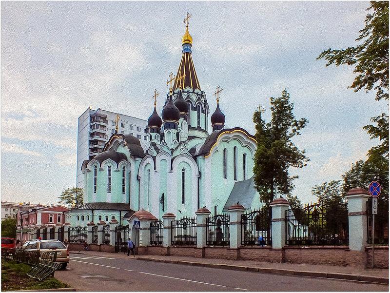Церковь Воскресения Христова в Сокольниках..