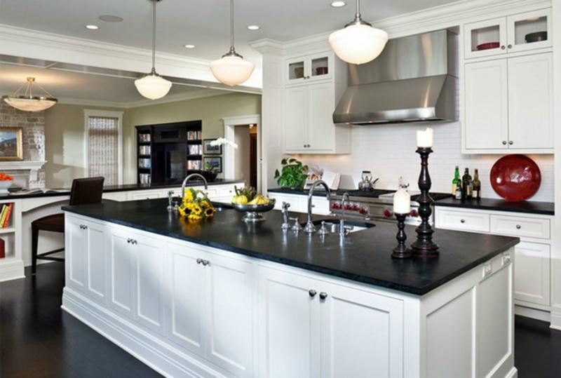 Белый цвет в интерьере кухни, фото 5