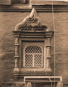 Вид окна церкви Димитрия Солунского. Ярославль г.