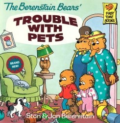 Книга The Berenstain Bears' Trouble with Pets