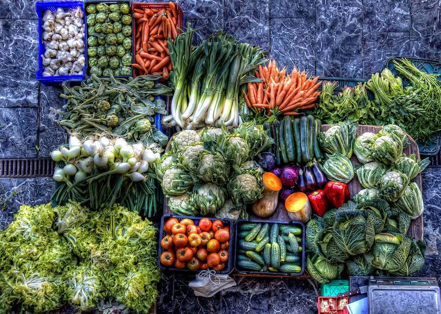 Ярмарка овощей Анапа
