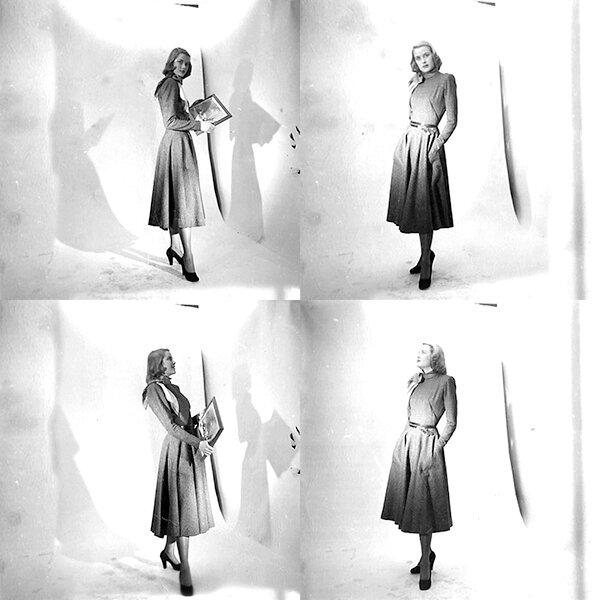 Грейс Келли в модельном агенстве (фото №2)