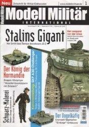 Журнал Modell Militar International №1