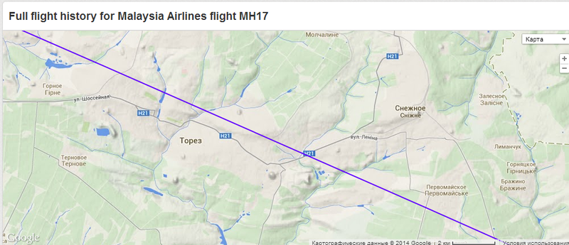 2014-07-18 19-17-26 MH17 - Malaysia Airlines - Flight history - Flightradar24 - Google Chrome.png