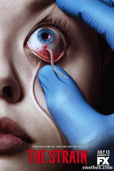 Штамм / The Strain - Полный 1 сезон [2014, WEB-DLRip | WEB-DL 1080p] (LostFilm)
