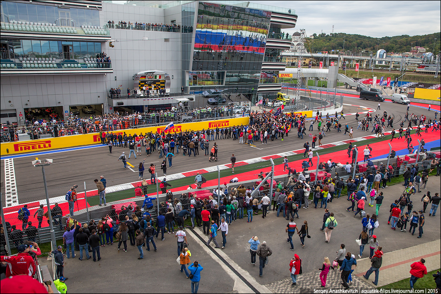 Formula 1 Russian Grand Prix 2015