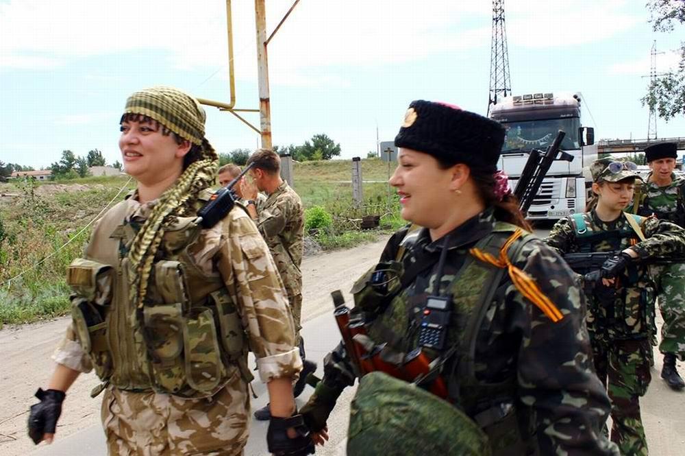 Женский батальон из Северодонецка (ЛНР) -  1