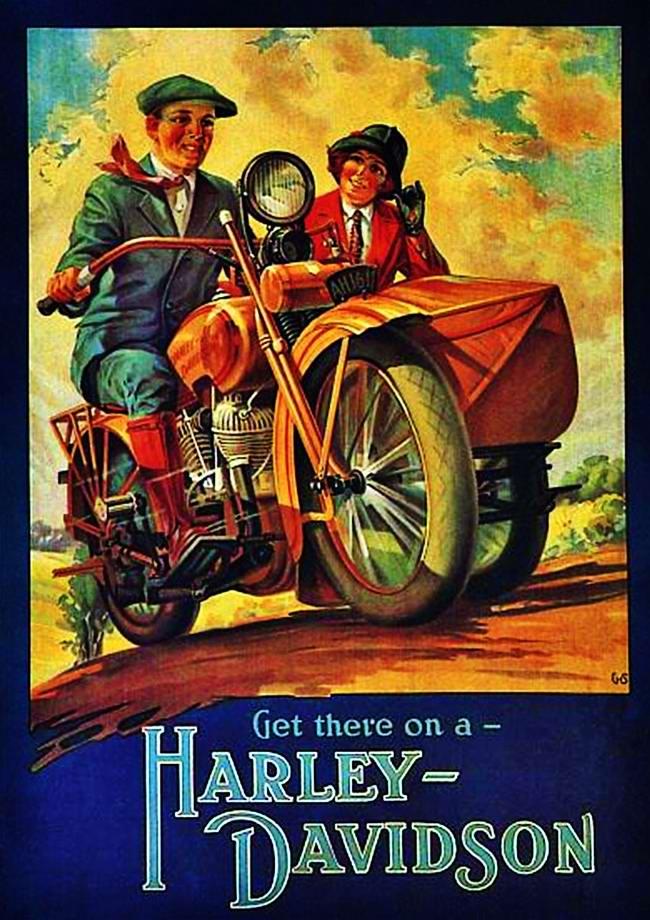 Harley-Davidson - США (1929 год) - 1