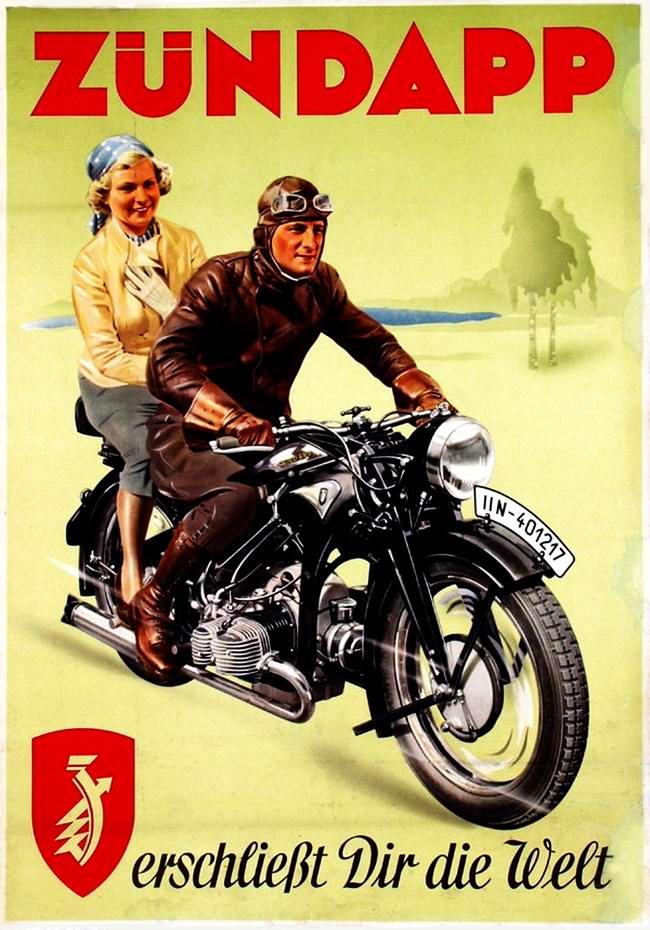 Zundapp - Германия (1936 год) - 1