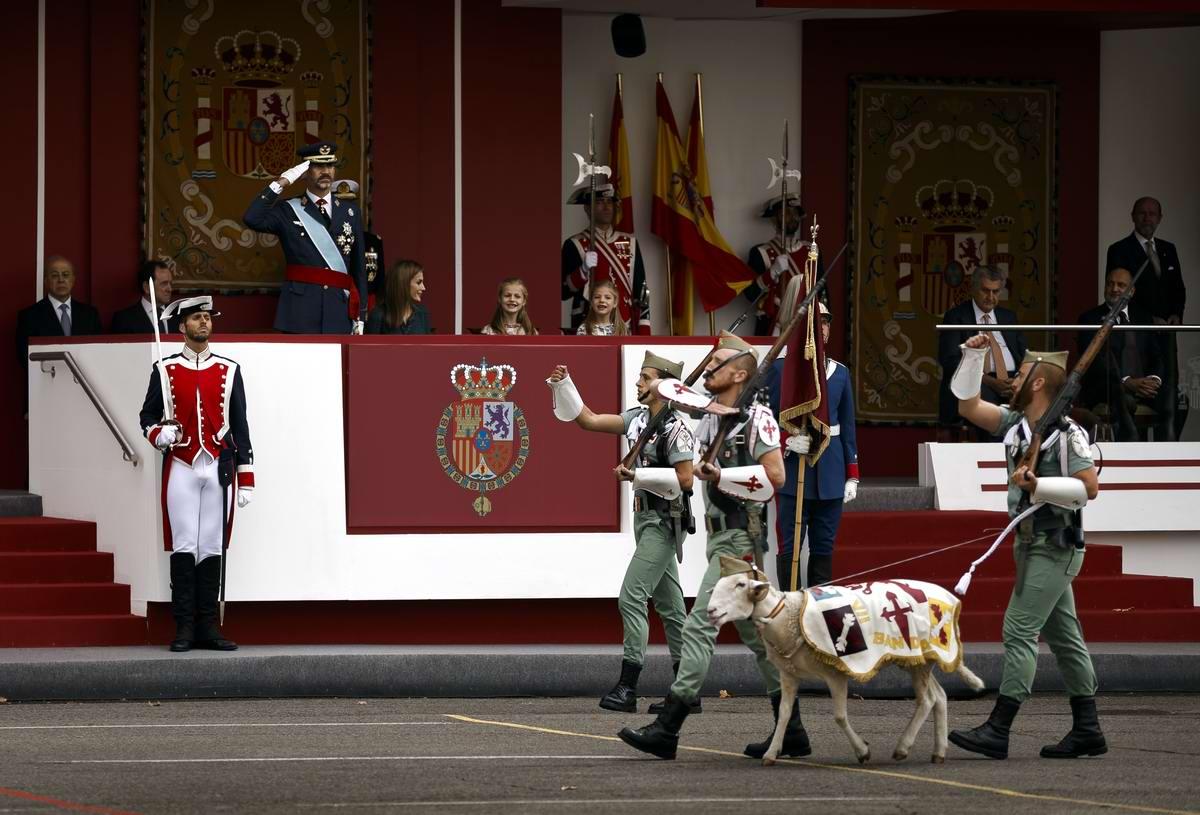 Есть на свете такие козлы, при виде которых приходится отдавать честь даже испанскому королю