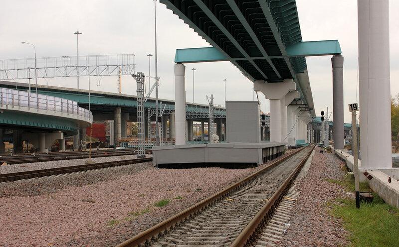 Платформа на станции Лефортово