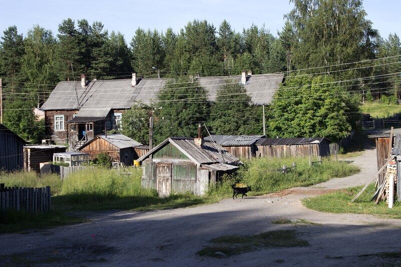 поселок Гирвас, Карелия