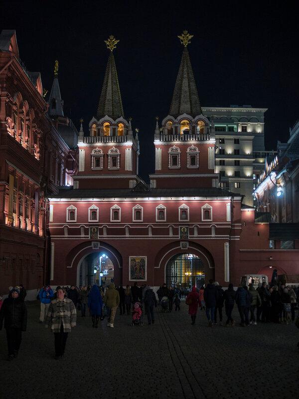 Выход с Красной площади