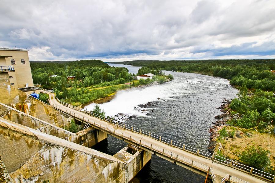 0 cd46d 9a89b92f orig Янискоски ГЭС на реке Паз