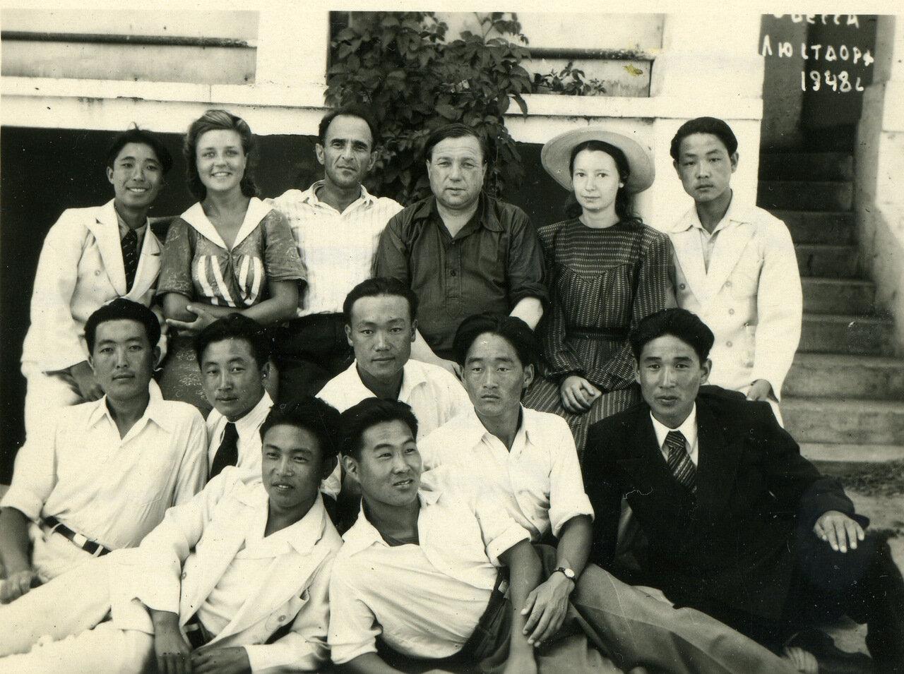 1948.10 августа. Одесса, Люсдорф.