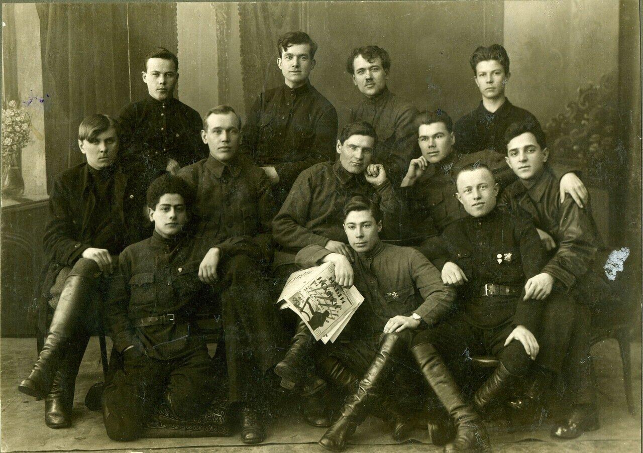 1924, апрель. Рабфак Ленинградского технологического института