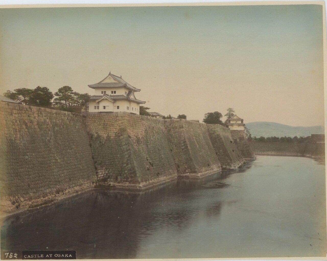 Осака. Замок