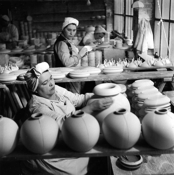 1951. Фарфоровый завод Tharaud