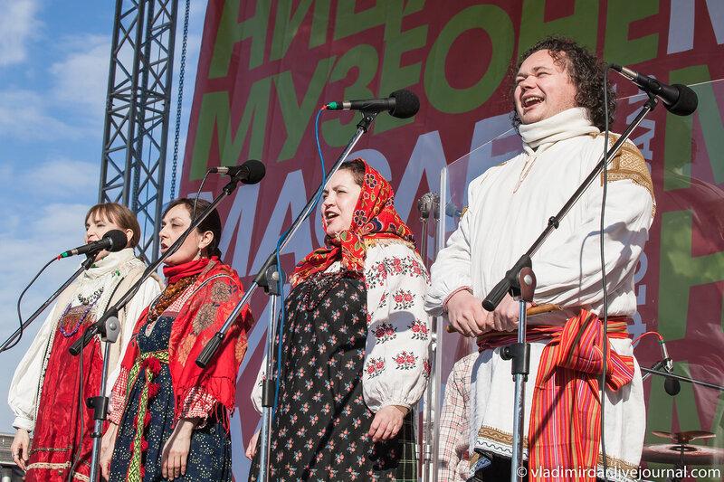 Ансамбль Дмитрия Покровского – Концерт на Масленницу в Музеоне