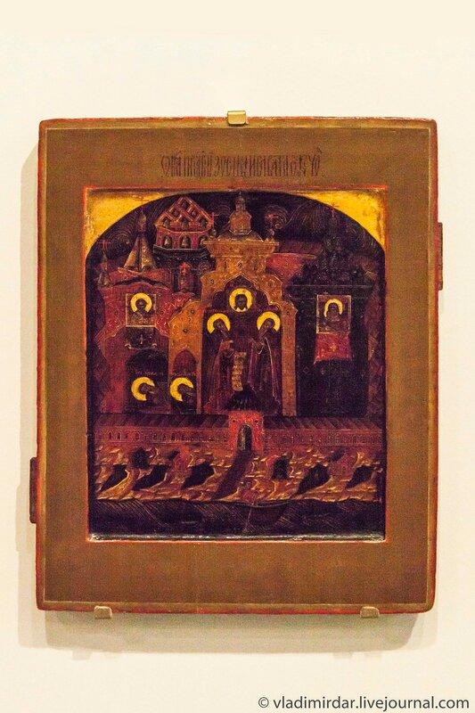 Икона «Преподобные Зосима и Савватий Соловецкие»