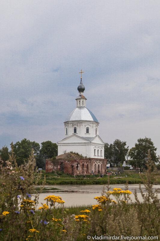 Храм Василия Великого, построенный Александром Суворовым в Кистыше