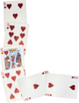 Scrap set House of cards