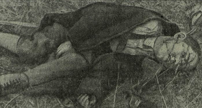Фотодокументы кровавых зверств гитлеровских бандитов, что творили гитлеровцы с русскими прежде чем расстрелять