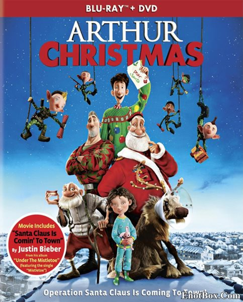 Секретная служба Санта-Клауса / Arthur Christmas (2011/BDRip/HDRip)