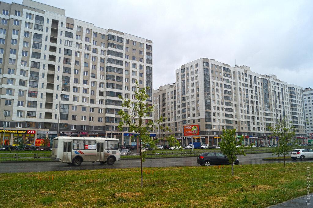 Екатеринбург. Жилой район Академический