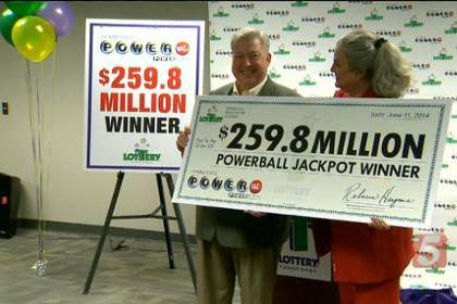 Жителю Теннесси посчастливилось выиграть в лотерею двести пятьдесят девять миллионов долларов
